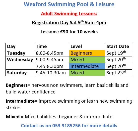 adult sept lessons