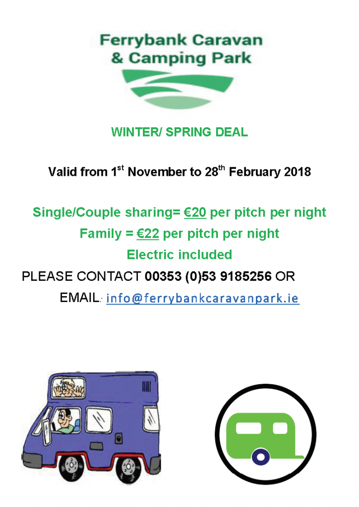 Caravan Park Winter Deal Wexford Swimming Pool